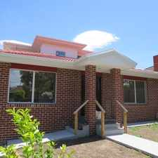 Rental info for LARGE TOWNHOUSE IN CENTRAL LOCATION!! in the Melbourne area