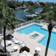 Rental info for 363 Pinellas Bayway, S #52