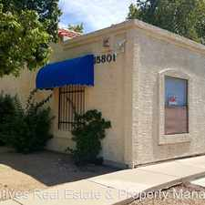 Rental info for 15801 N. 29th St. #1