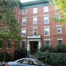 Rental info for 52 Quincy Place, NW #102 in the Washington D.C. area