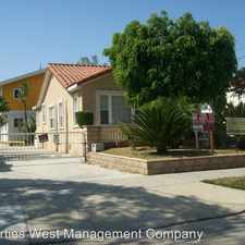 Rental info for 1644 W. 219th Street - A in the Harbor Gateway South area