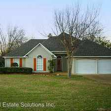 Rental info for 167 Trace Ridge Drive in the Madison area