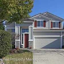 Rental info for 4933 Forest Creek Way in the Granite Bay area