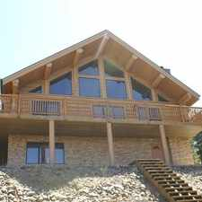 Rental info for Beautiful Western Red Cedar Log home for rent with spectacular views of Rollins pass & the Continental Divide