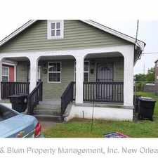 Rental info for 2258 N. Johnson St. in the St. Roch area