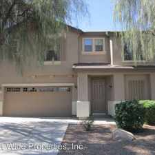 Rental info for 2755 S. SAILORS WAY in the Gilbert area