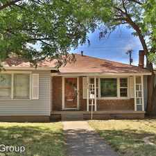Rental info for 3819 33rd Street in the Lubbock area