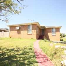Rental info for ABSOLUTE STUNNER! in the Leumeah area