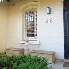Rental info for DEPOSIT TAKEN - BEAUTIFUL TERRACE IN PADDINGTON'S BEST STREET