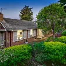 Rental info for HEART OF BALWYN