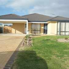 Rental info for Large family home & only mins from the beach in the Quinns Rocks area