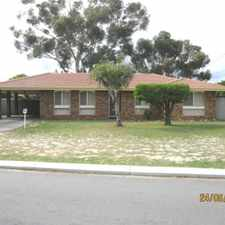 Rental info for VERY WELL PRESENTED in the Perth area