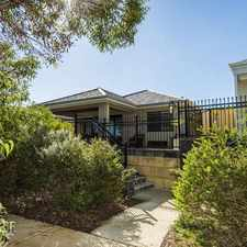 Rental info for OPEN TO VIEW WED 12 JUL 5.00PM in the Perth area