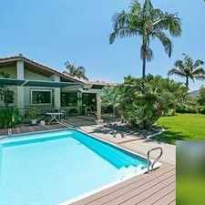 Rental info for House For Rent In Fallbrook.