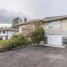 Rental info for Spacious three-bedroom + 2 bathroom upper suite near UVIC