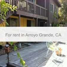Rental info for Tucked Away 1 Bedroom Plus Den And Living Room.