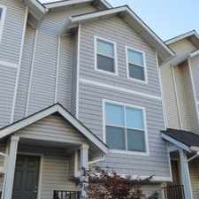 Rental info for Halsey East Townhomes in the Portland area