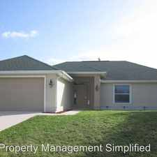 Rental info for 3319 SW 12th Ave. in the 33914 area