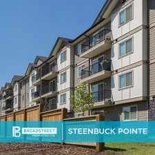 Rental info for Steenbuck Pointe