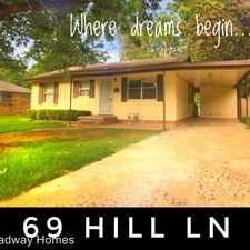Rental info for 69 Hill Ln in the 72209 area