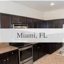 Rental info for House For Rent In Miami.