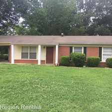 Rental info for 3409 Vance Lane in the Montgomery area