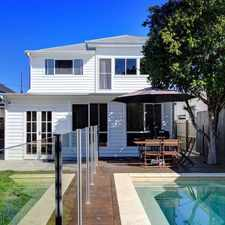 Rental info for LARGE FAMILY HOME IN THE HEART OF ASCOT in the Ascot area
