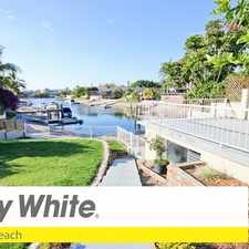 Rental info for WATERFRONT HOME IN BROADBEACH WATERS - POOL + BOAT RAMP/SHED