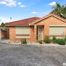 Rental info for Spacious 3 Bedroom Villa in the Albion Park area