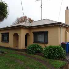 Rental info for Close to Vansittart Park in the Mount Gambier area