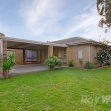 Rental info for An immaculate 4 bedroom, 2 bathroom family home