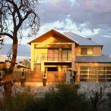 Rental info for TWO STOREY HOME OVERLOOKS BUSHLAND/TRANQUILITY PLUS!!!!! in the Wattleup area