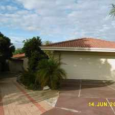 Rental info for Large Family sized 4 x 2 in the Perth area