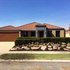 Rental info for SPACIOUS OUTDOOR LIVING! FIRST WEEK RENT FREE in the Perth area