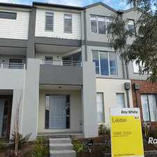 Rental info for SPACIOUS TOWNHOUSE OVER THREE LEVELS