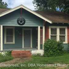 Rental info for 916 West Lucas in the Beaumont area