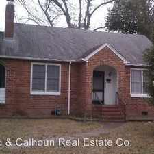 Rental info for 1006 MERRY STREET in the North Augusta area