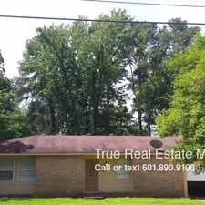 Rental info for 1221 Springdale Drive in the Jackson area