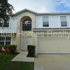 Rental info for 4 /3 two story home