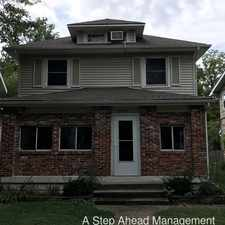 Rental info for 4244 Sunset Avenue in the Indianapolis area