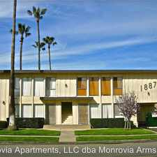 Rental info for 1887 Monrovia Avenue #09