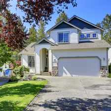 Rental info for Charming and Roomy on the Greenbelt. Close In Bonney Lake