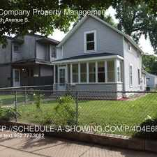 Rental info for 2823 30th Avenue S. in the Longfellow area