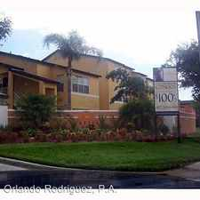 Rental info for 4642 Commander Dr. Apt. 918 in the South Semoran area