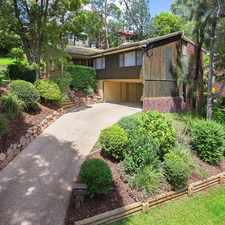 Rental info for Wonderful Family Home! in the Indooroopilly area
