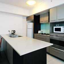 Rental info for SPACIOUS TWO BED ROOM UNFURNISHED APARTMENT in the Brisbane City area