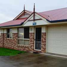 Rental info for The Price Has Been Dropped On This Tidy 2 Bedroom Unit in the North Toowoomba area