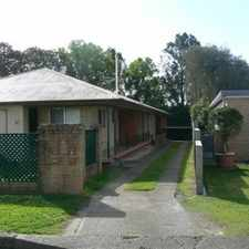 Rental info for 2 bedroom unit in a quiet complex in the Taree area