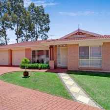 Rental info for Open home cancelled- application approved! IDEAL LOCATION, GREAT ENTERTAINER in the Kellyville area