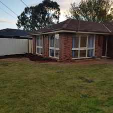 Rental info for 3 BEDROOM HOME IN MELTON SOUTH in the Brookfield area